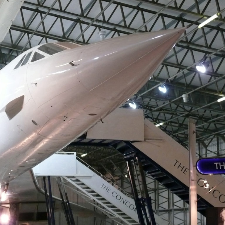 Concorde-Exhibit-National-Museum-of-Flight-1